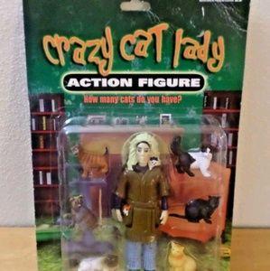 Crazy Cat Lady 'Action Figure'